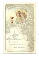 Image Religieuse, Première Communion - 1906 - Images Religieuses