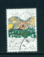 AUSTRALIA - 1992 Land Conservation 45c Used As Scan - 1990-99 Elizabeth II