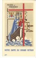 Image Religieuse, Prière Et Pénitence - Images Religieuses