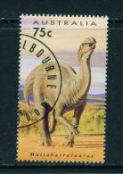 AUSTRALIA - 1993 Prehistoric Animals 75c Used As Scan - 1990-99 Elizabeth II