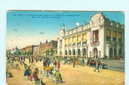 NICE   Promenade Des Anglais , Automobile , Voiture Ancienne , Oldtimer - Niza