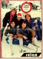 Kleines Poster  -  Gruppe Relax  -  Rückseite : Didi Hallervorden  -  Von Pop-Rocky Ca. 1982 - Plakate & Poster