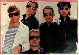 Kleines Musik Poster  -  Gruppe Extrabreit  -  Von Bravo Ca. 1982 - Plakate & Poster