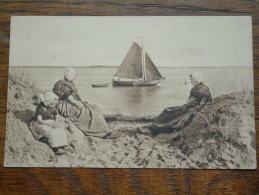 SCHEEPJE VIEREN ( 139 ) Veering The Ship ( Zeeland Holland ) Anno 1919 ( Zie Foto Voor Details ) !! - Netherlands