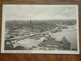 Stockholm, Utsikt Fran SÖDER - Anno 1912 ( Zie Foto Voor Details ) !! - Suède
