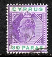Cyprus  51   (o)    Wmk 3  1904-7 Issue - Cyprus (...-1960)