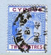 Cyprus  53   (o)    Wmk 3  1904-7 Issue - Cyprus (...-1960)