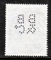 Mauritius  243  (o)  PERFIN - Mauritius (...-1967)