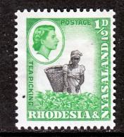 Rhodesia And Nyasaland 158  * - Rhodesia & Nyasaland (1954-1963)