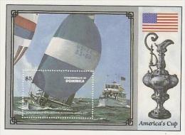 Dominica-1977 America´s Cup MS MNH - Dominica (1978-...)