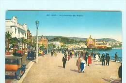 NICE  Promenades Des Anglais , Automobile , Voiture Ancienne , Oldtimer - Tráfico Rodado - Auto, Bus, Tranvía