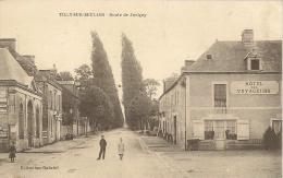 TILLY-SUR-SEULES - Route De Juvigny - Hôtel Des Voyageurs - Animé - Frankrijk