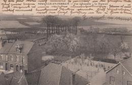 LA NEUVILLE EN FERRAIN-LE DURMONT-CARTE POSTALE FRANCAISE TRANSFORMEE EN FELDPOSTKARTE - France