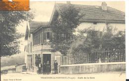 VERRERIES - De- PORTIEUX - Café De La Gare , Trés Bon état ( Voir Scan ) - Autres Communes
