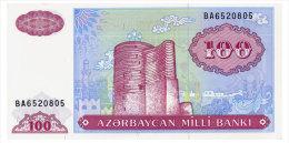 AZERBAIJAN 100 MANAT ND(1999) Pick 18b Unc - Azerbaïjan