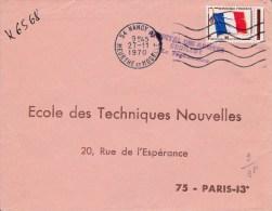1970  -  ENVELOPPE DE L'HOPITAL DES ARMEES SEDILLOT De NANCY ( MEURTHE ET MOSELLE ) - Marcophilie (Lettres)
