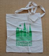 Bag About The 96th World Esperanto Congress In Copenhagen - Sako Pro La 96a Universala Kongreso En Kopenhago - Obj. 'Herinnering Van'