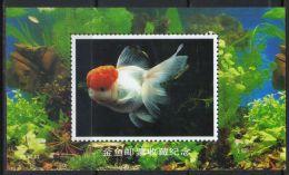 "MINT - MNH ""CHINA"" - ""CHINESE"" - ""ASIA"" STAMP MINISHEET (tie1734) - Fishes"