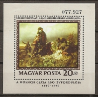 HUNGRÍA 1976 - Yvert #H126 - MNH ** - Hojas Bloque