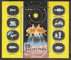 ESPACIO - HUNGRÍA 1976 - Yvert #H127 - MNH ** - Espacio
