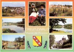 CREUTZWALD 57 - Porte De France - Multivues - VM 568 - W-4 - Creutzwald