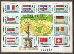 BANDERAS - HUNGRÍA 1977 - Yvert #H134 - MNH ** - Sellos