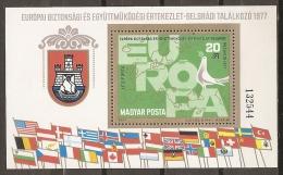 HUNGRÍA 1977 - Yvert #H132 - MNH ** - Hungría
