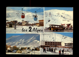 38 - LES 2 ALPES - Patinoire - Bus - Vénosc
