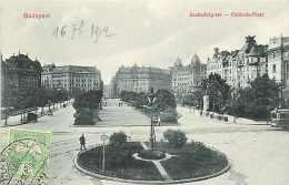 Pays Divers-hongrie - Ref 903 -  Budapest - Szabagsag-tér - Carte Bon état - Hongrie