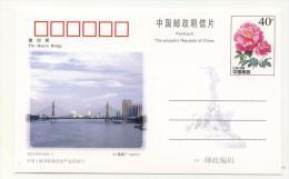 Post Card Bridge 1998  From China - Ponti