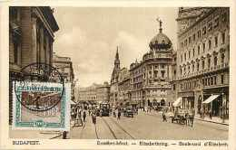 Pays Divers-hongrie - Ref 902 -  Budapest -erzsébet-korut - Boulevard D'élisabeth  - Carte Bon état - Hongrie
