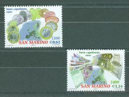 San Marino - 2001 Euro-coins MNH__(TH-9450) - San Marino