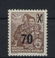 DDR Michel No. 442 g X II ** postfrisch