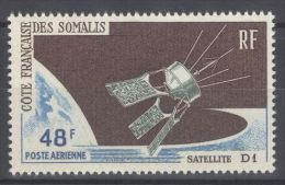 French Somali Coast - 1966 D1 Satellite MNH__(TH-10252) - Französich-Somaliküste (1894-1967)