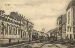 Pays Divers-hongrie - Ref 865 -  Ujvidek - Petöti-utca -tramway -  Carte Bon état - - Hongrie