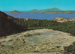 Italia--Napoli--Pozzuoli--La Solfatera Con L'isola D'Ischia---a, Francia - Napoli (Naples)