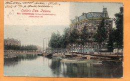 Lutkies Fam Pension Amsterdam 1905 Postcard - Amsterdam