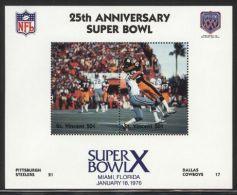 St.Vincent - 1991 Super Bowl Block (10) MNH__(FIL-10253) - St.Vincent (1979-...)
