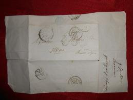 Lot Du 28.08.13-06_archive, Lettre Avec Cachet Perlé De  Barreme Et Digues,9.07.54 A Voir!! - 1849-1876: Période Classique