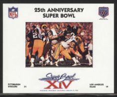 St.Vincent - 1991 Super Bowl Block (14) MNH__(FIL-10257) - St.Vincent (1979-...)