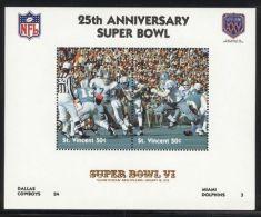 St.Vincent - 1991 Super Bowl Block (6) MNH__(FIL-10244) - St.Vincent (1979-...)