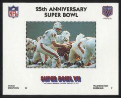 St.Vincent - 1991 Super Bowl Block (7) MNH__(FIL-10250) - St.Vincent (1979-...)