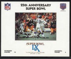 St.Vincent - 1991 Super Bowl Block (9) MNH__(FIL-10252) - St.Vincent (1979-...)