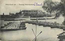 Pays Divers-hongrie - Ref 854- Pétervarad Var -novi Sad - Neusatz - Le Danube - Carte Bon état- - Hongrie