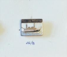 OLD & RARE - SHIP OLTENITA ROMANIA, Roumanie, Rumänien / Danube Luxury Passenger Cruised Ship & Liner, Paquebot, - Bateaux