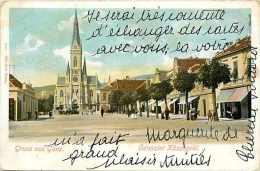 Pays Divers-hongrie - Ref 846    Gruss Aus Güns -koszed -   Carte Bon état  - - Hongrie