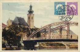 Pays Divers-hongrie - Ref 843 - Györ - Rabahid -- Carte Bon état  - - Hongrie