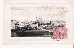 MONTEVIDEO VISTA GENERAL DE LA AGUADA 1908 - Uruguay