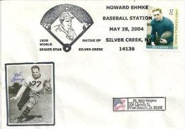 USA .Red Grange,major League Baseball Pitcher. Une Enveloppe Oblit.speciale Baseball - Base-Ball