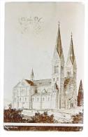 KOLLEKTION HANS PASCHER  ARCHITEKT TRSAT FIUME KIRCHE 1905 - Kirchen U. Kathedralen